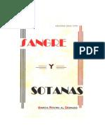 SANGRE Y SOTANAS