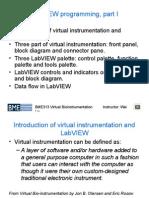Virtual BIo Instrumentation Lecture 02