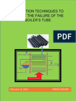 Inspection Techniques to Detect the Failure of the Boiler Tubes --Dinesh Poudel