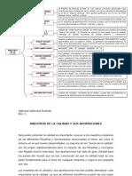 Mapa Conceptual y Resumen de Los Maestros de La Calidad y Sus Aportanciones.