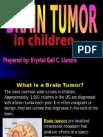 brain tumor in children.ppt