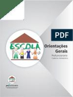 Caderno A - Orientações Gerais - Edição 2014