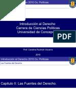 Introduccion Al Derecho Udec 2010 Cap II Las Fuentes Del Derecho- 2