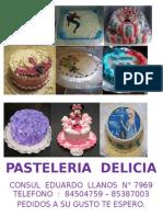 PASTELERIA  DELICIA