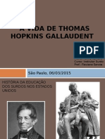 Vida de Thomas Gallaudet