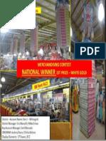 Benchmark Merchandising Contest