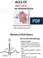 ACLS CE-Part I of III -ECG Strip Interpretation w Case Scenarios Supplemental