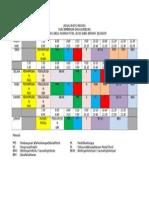 Jadual Waktu Individu Bimbingan & Kaunseling 2015