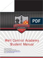 Well Control Academy Student Manual