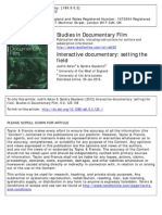 Interactive Documentary Setting the Field