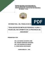Informe Finalde Investigacion Del Rio Opamayo 2006