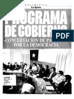 Programa de Gobierno de Patricio Aylwin