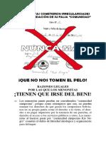 Colonia Gruenland Acta de Fundación