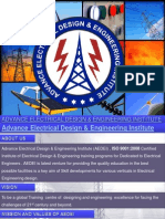 Electrical Design/Electrical Project Training/Electrical System Design/