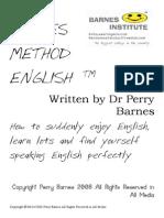 4772565 Barnes Method English c Perry Barnes 2008 Aprender Ingles Em Sua Casa