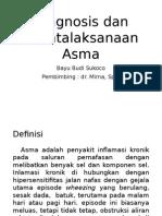 Diagnosis Dan Penatalaksanaan Asma Ppt Referat