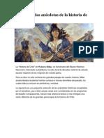 8 Desconocidas Anécdotas de La Historia de Chile