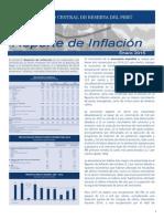 Reporte de Inflacion Enero 2015 Sintesis