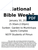 National Bible Week