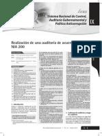 Realización de Una Auditoría de Acuerdo Con La