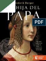 La Hija Del Papa - Frederik Berger