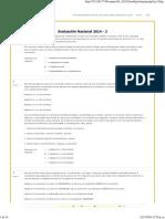 Evaluaciones Nacionales 2014-2..