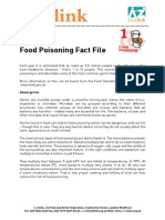Food Poisoning Fact File