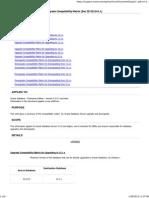 Database Server UpgradeDowngrade Compatibility Matrix (Doc ID 551141.1)