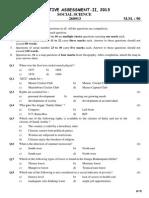 9th -social science sample paper   sa-ii  2014