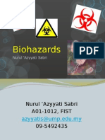 (1) Biohazards1