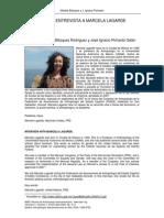 Entrevista a Marcela Lagarde