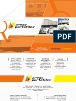 Areas Portatiles - Catalogo 2015