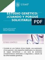 1. Estudio Genetico. Cuando Solicitarlo