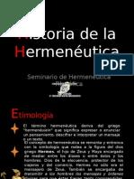 Historia de la Hermeneútica