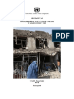 Afghanistan. Protection of Civilians in armed conflict 2009 Report English