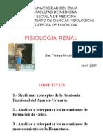 Medicina- Fisiologia. Renal Tercera Clase