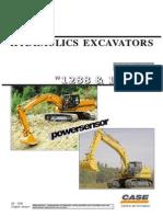 Case Hydraulic Excavators Poclan 1288 & 1488C Shop Manual
