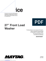 Maytag Neptune Washer Manual Model# mah9700aw