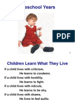 Preschool Social Personality Development 112