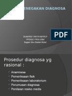 Prinsip2 penegakan Diagnosa