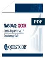 Q212 Conference Call Slides