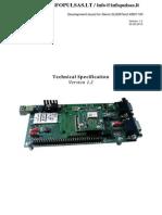2-Technical Specification DevKit