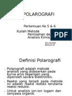 Polarografi