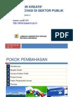 Inovasi Di Sektor Publik PIM4