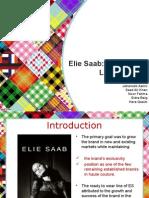 Elie Saab Case Analysis