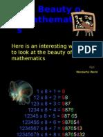 ความสวยงามของ คณิตศาสตร์ สำหรับคนชอบคำนวน  Beauty-of-Mathematics