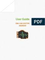 User Guide OBD Car Doctor Android