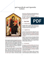 Marian Papal Encyclicals and Apostolic Letters