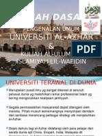 u.al-azhar & Kuliah Ulum Islamiyah