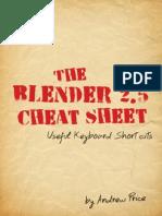 Cheat Sheet Blender